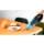 Conga Powerhand wet 11,1V - Desenho geral do aspirador de mão. O kit inclui: 1 x Conga Powerhand Wet 11,1V 1 x Acessório para líquidos 1 x Acessório para cantos 1 x Acessório para móveis 1 x Base de carregamento 1 x Parafuso para fixação de parede - Item12