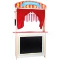Puesto de venta y teatro de marionetas