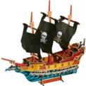Puzzle 3D Barco pirata