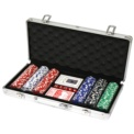 300 Poker Chips 11.5g + Aluminum Briefcase
