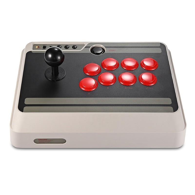 Gamepad 8bitdo N30 Arcade Stick - Interaz de Bot (avião na frente)