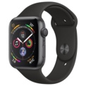 Apple Watch Series 4 GPS 44mm Aluminio Gris Espacial / Correa Deportiva Negro