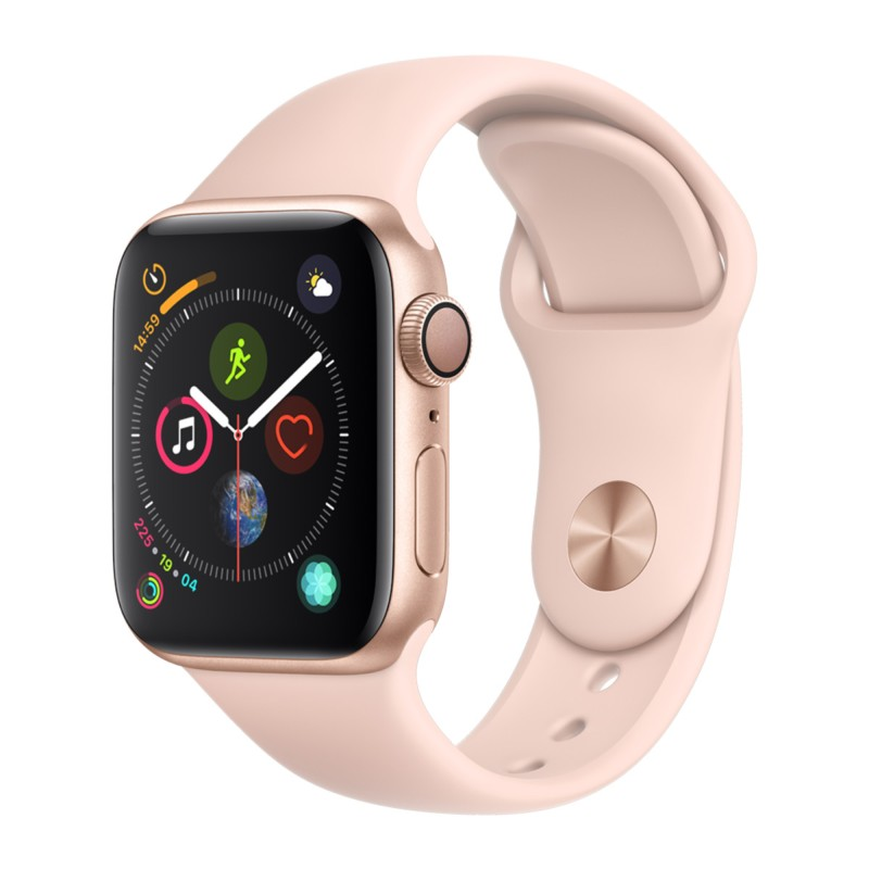 Apple Watch Series 4 GPS 40mm Alumínio Dourado / Pulseira Desportiva Rosa