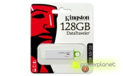 Kingston Technology DataTraveler G4 128GB 128GB USB 3.0 Verde, Color blanco unidad flash USB - Ítem3