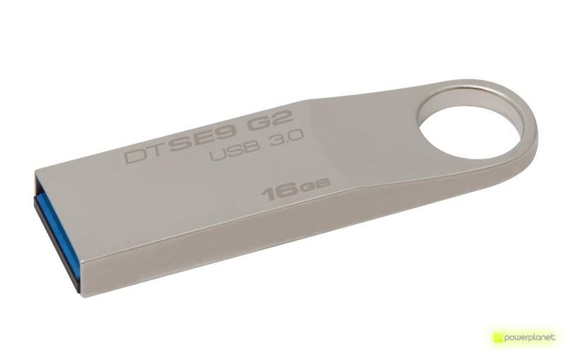 Kingston Technology DataTraveler SE9 G2 16GB 16GB USB 3.0 Prateado unidade de memória USB