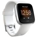 Fitbit Versa Lite SmartWatch branco / prata alumínio