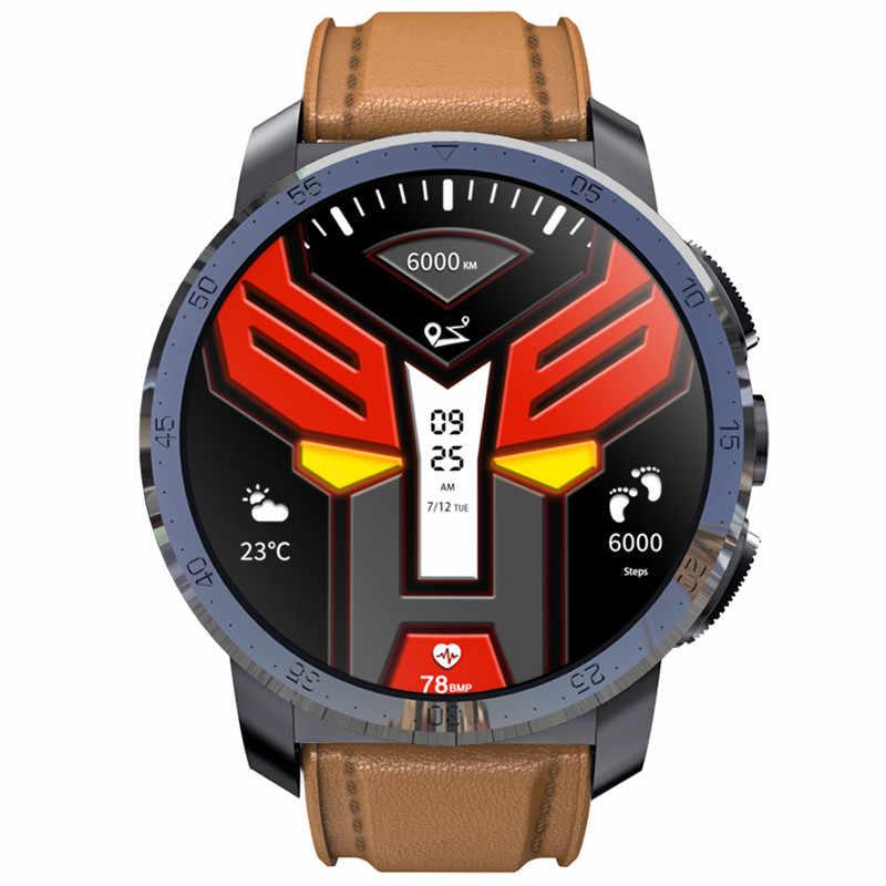 Kospet Optimus Pro Cuero 4G Smartwatch