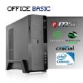 Sobremesa Intel G4900/4GB/1TB Office Basic - Ordenador Completo para Oficina / Ofimática Procesador Intel CeleronG4900 - UHD Graphics 610 .Seagate Barracuda 1TB SATA3 3.5 - 4GB de RAM DDR4 -Mini Torre L-Link Magna 3.0 Slim