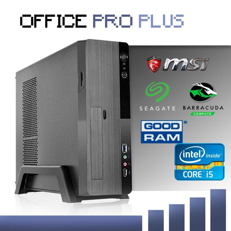 Sobremesa Intel i5-7400/8GB/120 SSD + 1TB/ Office Pro Plus - Ordenador Completo para Oficina / Ofimática - Procesador IntelCore i5-7400 - UHD Graphics 630- Disco Duro SSD 240GB Kingston A400 SATA3 - 8GB de RAM DDR4 -Mini Torre L-Link Magna 3.0 Slim