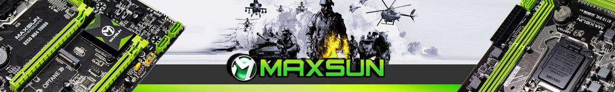 Logo de la marca Maxsun