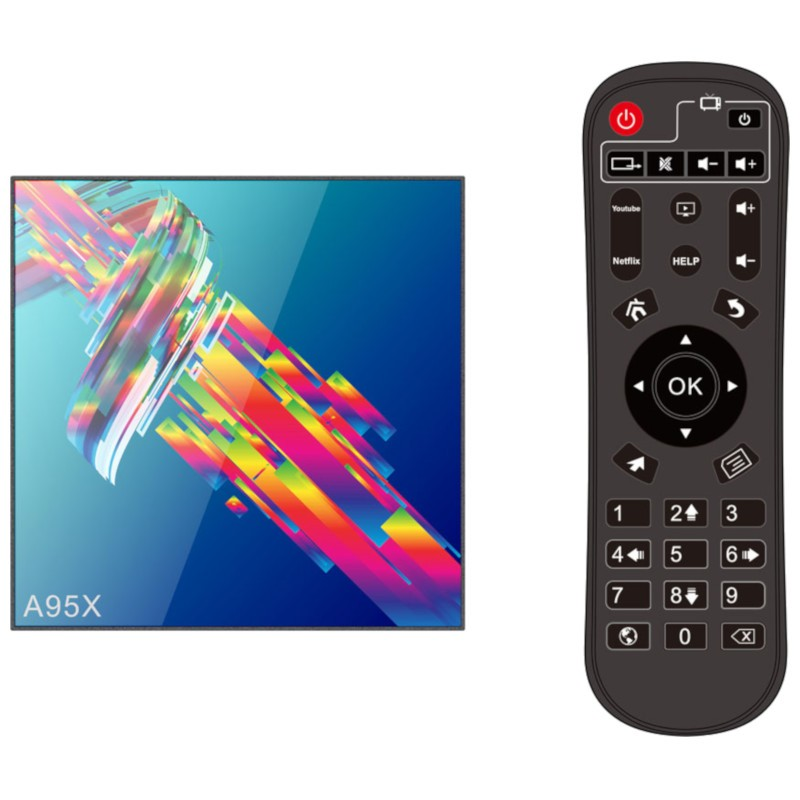 A95X R3 4GB 32GB Android 9 - Android TV