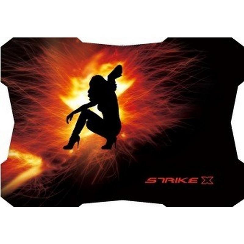 Alfombrilla Gaming Aerocool Strike X; imagen estampada, material antideslizante