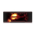 Alfombrilla Motospeed P60 - Color negro mate con un diseño de explosiones de color rojo - Tracción Ergonómica - Superficie Antideslizante - Perfecto para Ratones Ópticos y Láser - Diseño Motospeed - Negro Mate - Mayor Precisión - Alfombrilla Gaming