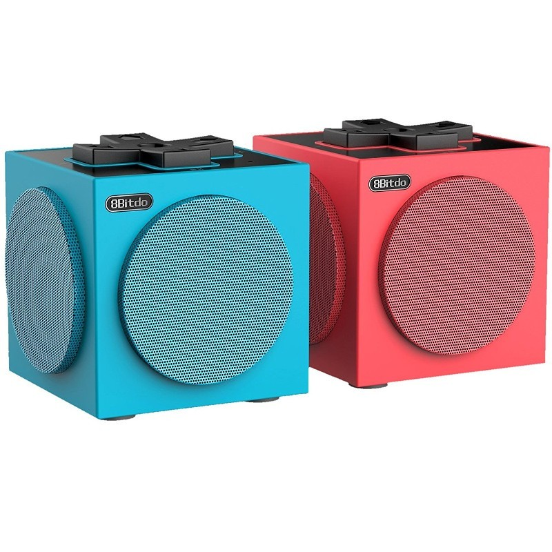 Altavoces Bluetooth 8Bitdo Twin Cube - Zona frontal