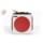 Altavoz Bluetooth 8Bitdo Cube Speaker - Vista cenital; zona delantera (cruceta a modo de botones de reproducción) - Ítem2