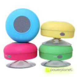 Altavoz Bluetooth Ducha Impermeable con Ventosa Manos Libres Baño BTS-06 - Ítem3