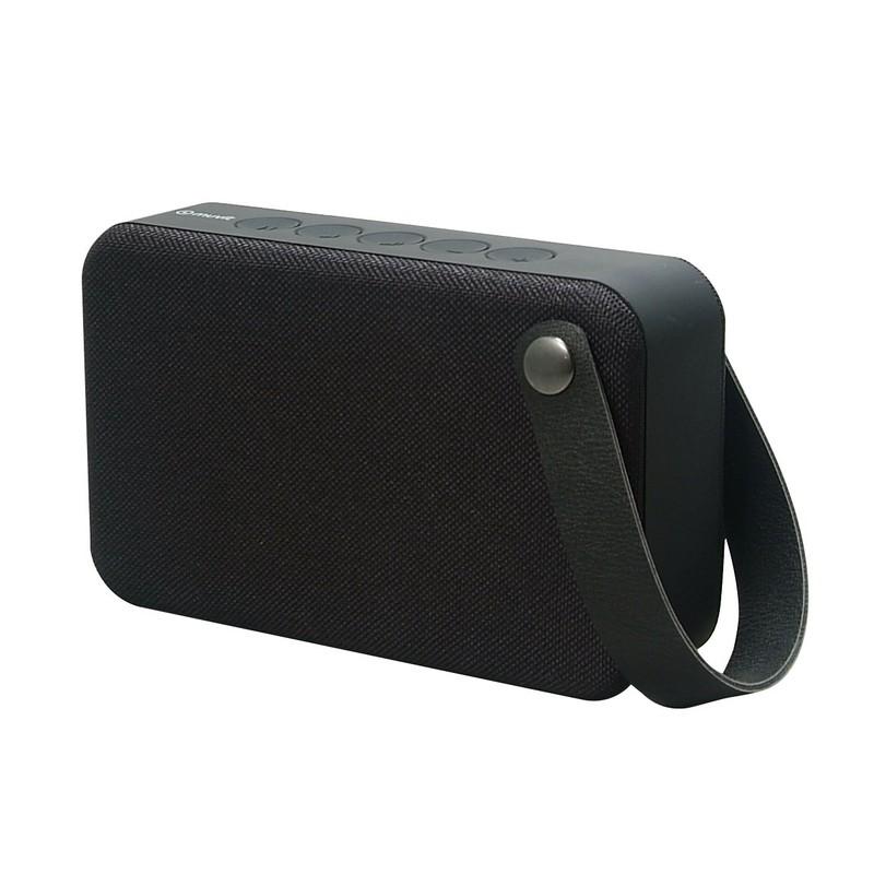 Coluna Bluetooth Muvit SD2 Tecido Preto