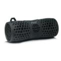 Altifalante Bluetooth PSTLL-213 Waterproof Portable - Cor preta - Resistente à água - IPX6 - Autonomia 10 horas - Potência 6W - Ligação Bluetooth - Ligação por cabo 3,5 mm - Gancho para mosquetão - Design robusto