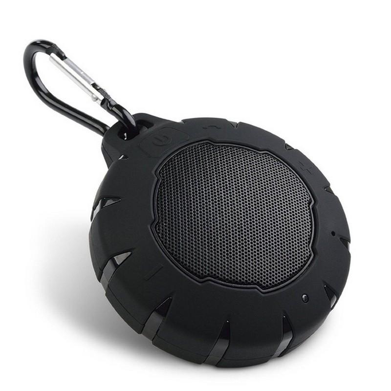 Altavoz Bluetooth PSTLL-705 Ultra-Portable - Bluetooth 3.0, sumergible 1 metro durante 30 minutos (como máximo), potencia 5W, autonomía de 5 a 6 horas, transmisión de 10 metros, función manos libres, soporte para enganche por mosquetón (incluido)