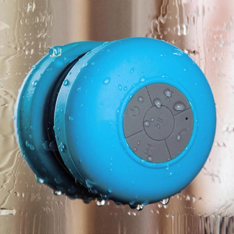 Altavoz Bluetooth Ducha Impermeable con Ventosa Manos Libres Baño BTS-06