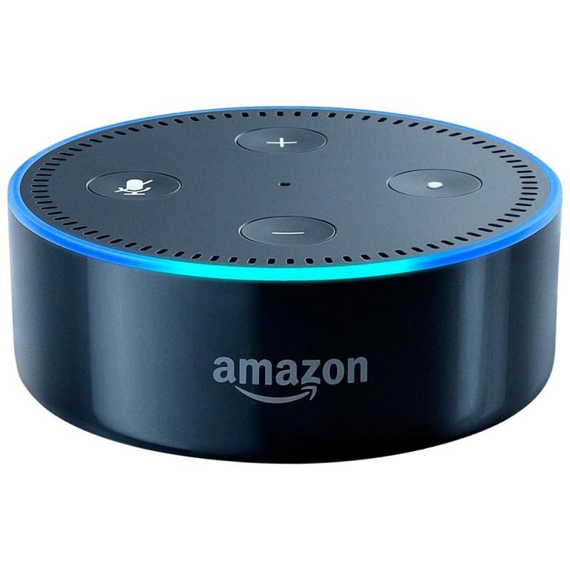 Amazon Echo Dot 2.ª Gen Negro - Altavoz Inteligente Alexa