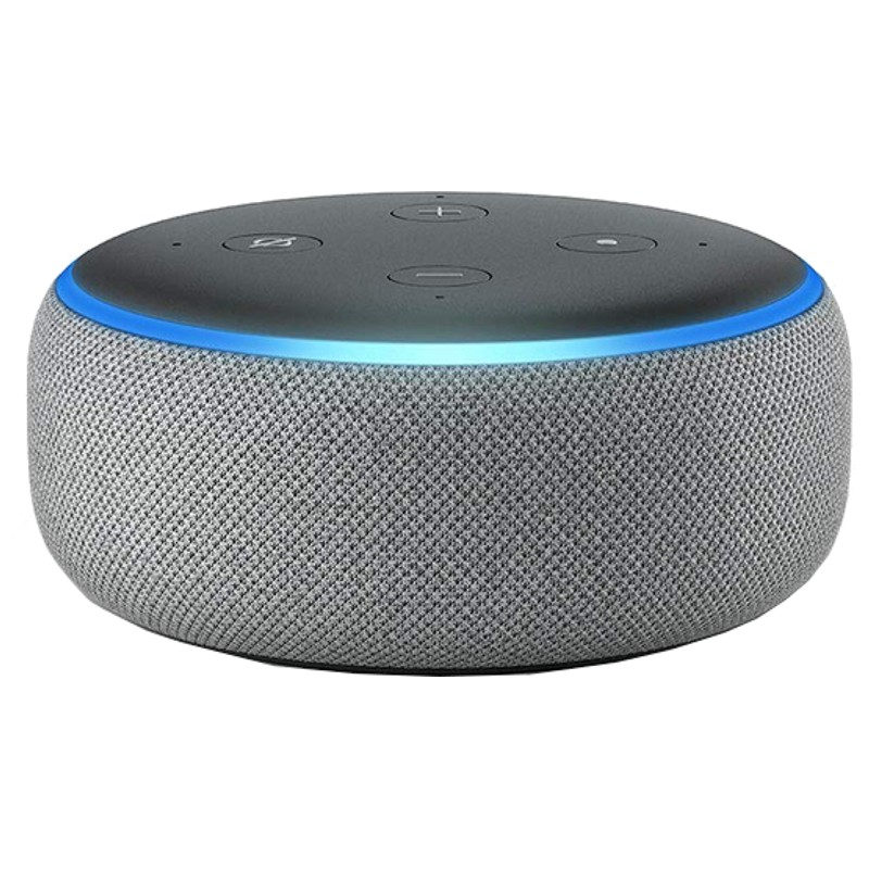 Amazon Echo Dot 3.ª Gen Gris Oscuro - Altavoz Inteligente Alexa