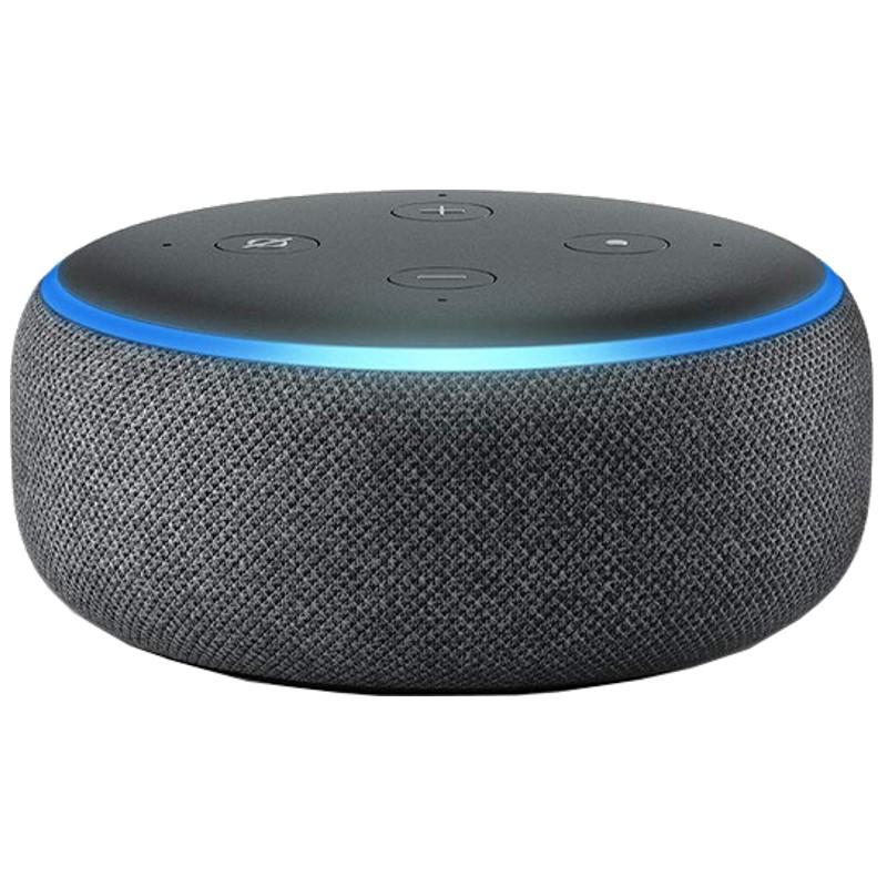 Amazon Echo Dot 3ª Geração Preto Antracite - Coluna Inteligente Alexa