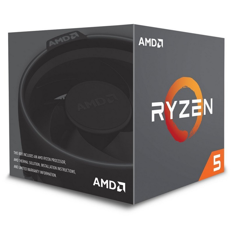 AMD Ryzen 5 2600X 3.6GHz Box
