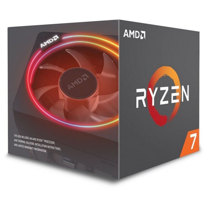 AMD Ryzen 7 2700X 3.7GHz Box