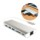 Amkle Hub USB Multipport Type C 3.1 with 2 x USB 3.0 / HDMI 2.0 port Female / LAN / USB Type C 3.1 / Slot SD Card - Front view interface - Item6