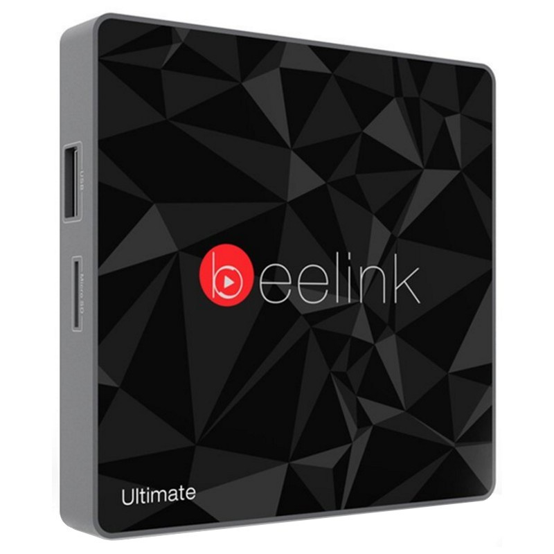 Beelink GT1 Ultimate 4k 3GB DDR4 / 32GB Android 7.1 - Android TV - Interface frontal