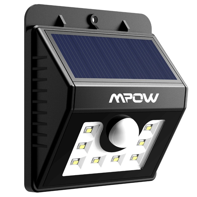 Aplique LED Solar Mpow con Sensor Movimiento MSL5