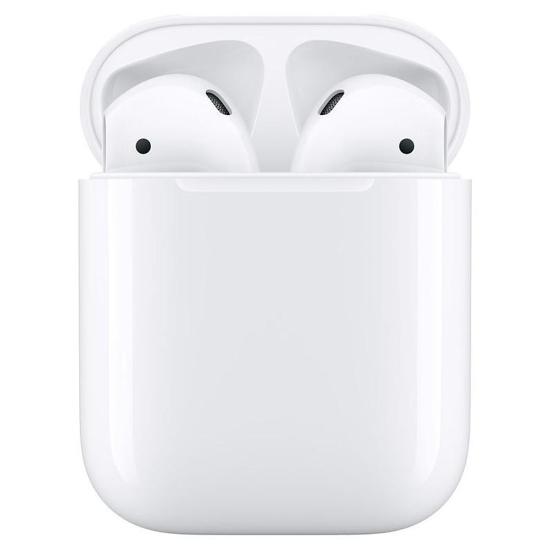 Apple Airpods V2 con Estuche de Carga - Auriculares Bluetooth