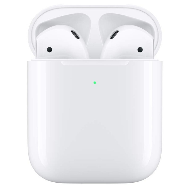 Apple Airpods V2 with Wireless Charging Case - Bluetooth Headset