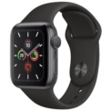 Apple Watch Series 5 GPS 40mm Aluminio Gris Espacial / Correa Deportiva Negro
