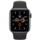 Apple Watch Series 5 GPS 44mm Alumínio Espaço Cinzento / Bracelete Desportiva Preto - Item1