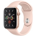 Apple Watch Series 5 GPS 40mm Aluminio Oro / Correa Deportiva Rosa Arena