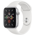 Apple Watch Series 5 GPS 40mm Aluminio Plata / Correa Deportiva Blanco - Ítem