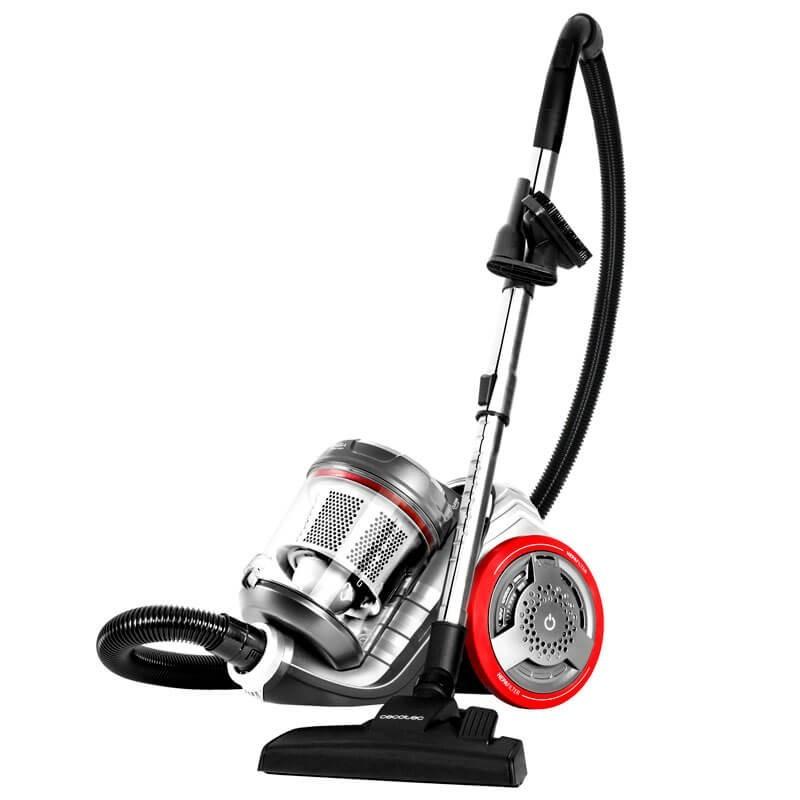 Aspirador Trineo Cecotec Conga EcoExtreme 3000 sin Bolsa - Aspirador sin bolsas multiciclónico: máxima potencia, mínimo consumo.