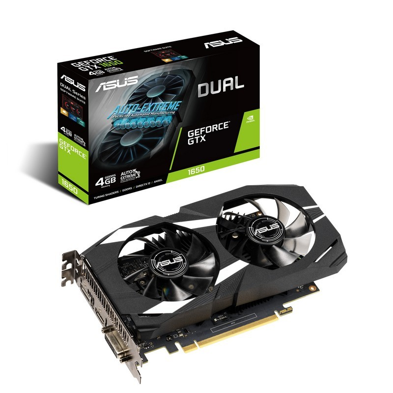 Asus GeForce GTX 1650 4GB Dual GDDR5