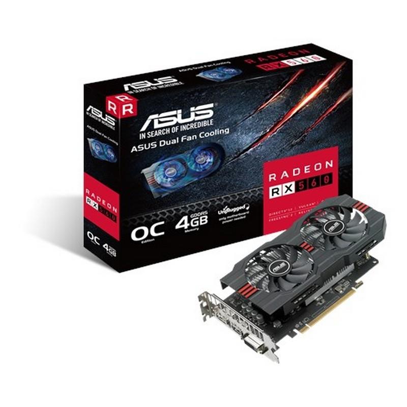 Asus Radeon RX560 4GB GDDR5