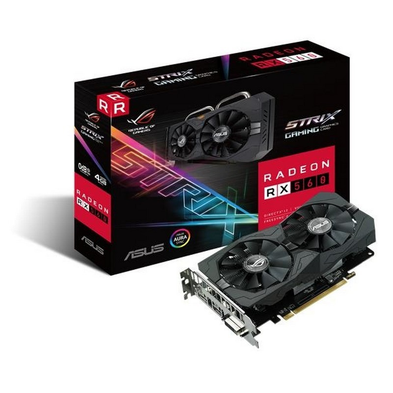Asus ROG Strix Radeon RX560 Gaming 4GB GDDR5