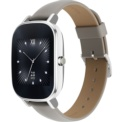 Asus ZenWatch 2 WI502Q Silver Leather Khaki