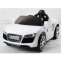 AUDI Style Branco 12V 2.4G - Carro infantil