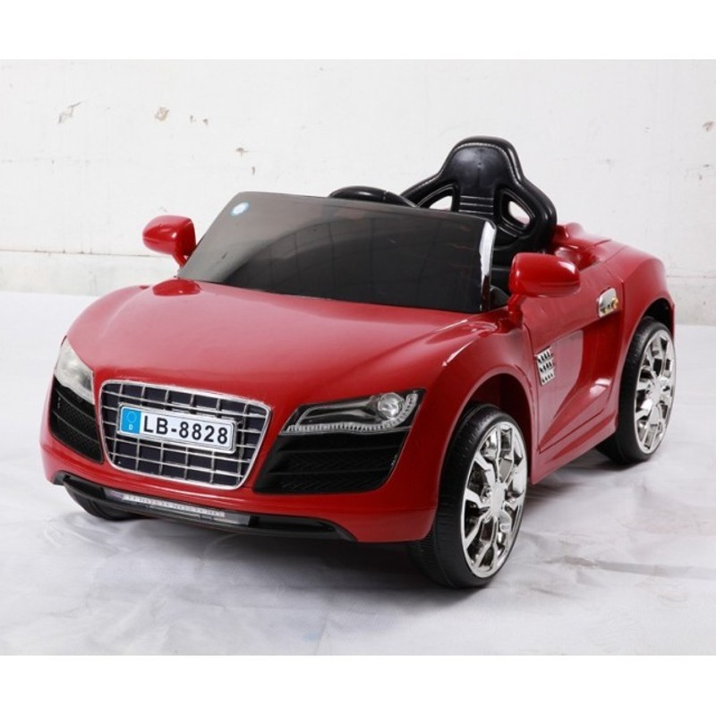 AUDI Style Vermelho 12V 2.4G - Carro Infantil
