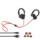 Niub5 U8 apt-X Bluetooth 4.1- Auriculares Deportivos - Color Negro, Tecnología Apt-X, Autonomía Máxima de 7 horas, Cancelación de RuidoCVC6.0, Bluetooth 4.1, Soporte con enganche, Auriculares In-Ear, IPX7 (Resistencia al sudor) - Ítem6