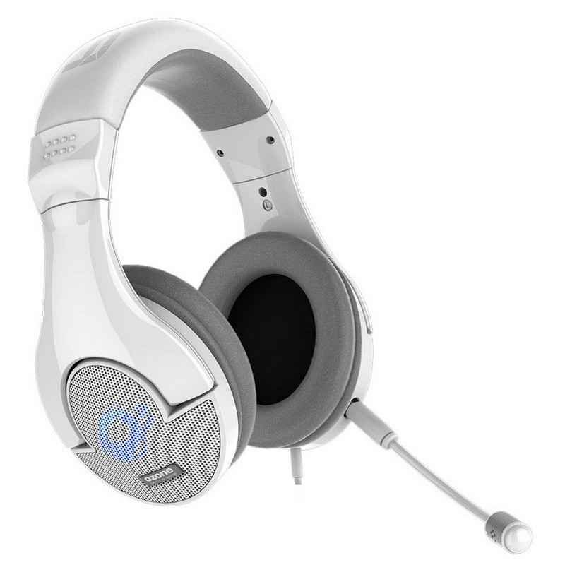 Auricular Gaming Ozone Onda Pro Blanco Pc / Ps4