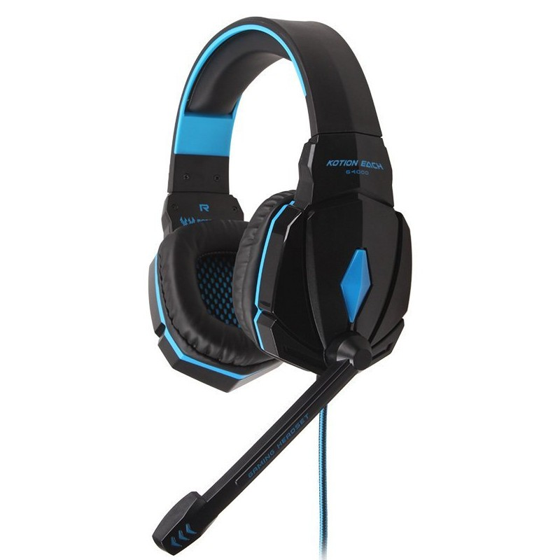 Auscultadores Gaming Kotion Each G4000