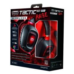 Headset Creative Tactic3D Rage V2.0 Inalámbricos - Item1