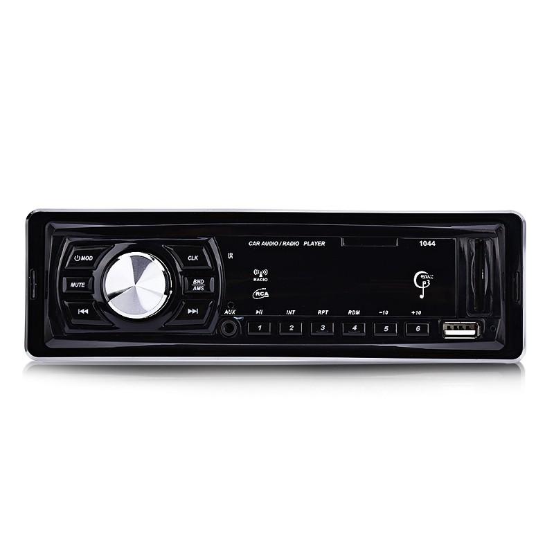 Autorádio 1044 USB / Slot SD com controlo remoto - MP3 player, USB 2.0, SD (até 32GB), AUX, rádio FM